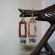 Bronze and Cut Glass on Gold-filled Earwires  $35