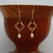 Gold-filled and Freshwater Pearl  $25
