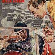 un raro numero della rivista La tribuna illustrata