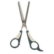 Односторонние филировачные ножницы для стрижки шпица.