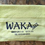 WAKA タオル オリジナルプリント