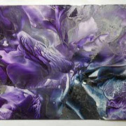 Flower Fantasy 2 - Encaustic Wax