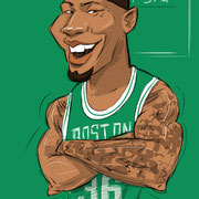 Marcus Smart Karikatur