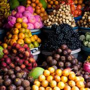 Buntes Markttreiben in Bedugul