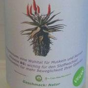 Aloe Ferox Saft - Natur mit Glucosamin in der Glasflasche