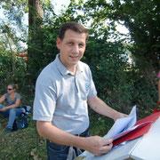 Hermann Blöchle, Organisator des Kübelesrennen