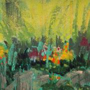 les jardins du loriot 2011 II pastel  23x32
