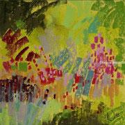 jardin Martinet, la guibretière pastel 20x20