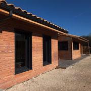 Maison ossature bois- Ecohameau la Clairière