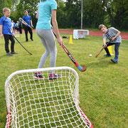 Hockey spielen kann man im Bezirk beim 1. VfL Fortuna Marzahn.