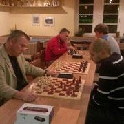 Turnier bei der RT Regenburg, Schnappschuss der Berliner Niederlage in Runde 2