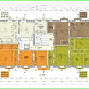 Programma integrato di Caltagirone - Palazzo Ingrassia-Lanzirotti - Pianta 1° piano