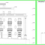 Programma integrato di Caltagirone - Palazzo Ingrassia-Lanzirotti - Prospetti