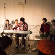 金沢大学ピアノの会の皆様。午後と夕方の2回にわたり、素敵な演奏で観客を魅了した。