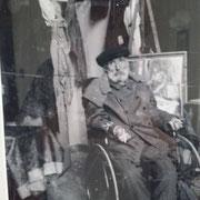 der Meister im Rollstuhl