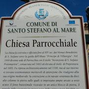 die Kirche von Sanot Stephano al Mare