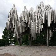 Metallröhren wie Orgelpfeifen
