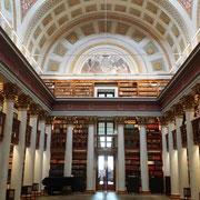 in der Staatsbibliothek - wie im Harry Potter Film