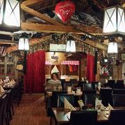 im Restaurant der Hotel Wiesengrund