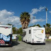 Stellplatz in Sanremo