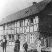 Selten wurde das Leben der Familie Schulte im Foto festgehalten (nach 1910)