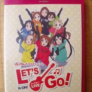 Blu-ray けいおん!ライブイベントLET'S GO! 950円 買取しました