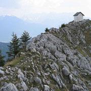 Brünnsteingipfel mit Kapelle