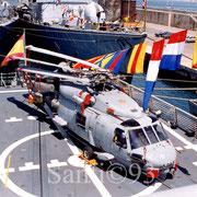 Helicóptero SH-60B de la 10ª Escuadrilla