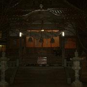 夜の龍御前神社