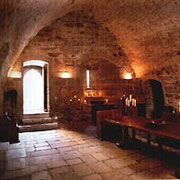 la voute du château-fort de Tennessus