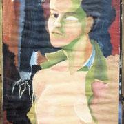 Ein junger Mann, 35 x 50 cm, ca. 1985
