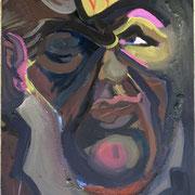 Der alte König, 35 x 50 cm, ca 1985
