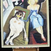 Bei der Psychoanalytikerin, 100 x 70 cm, ca. 1985