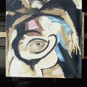 Die Arbeit einer Mutter ist nie getan, 50 x 35 cm, ca. 1985