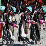 Colourful Ladakhi style Opening and Closing Ceremony