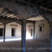 Inside Leh Palace