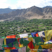 View from TSemo Gompa