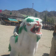 Auspicious Snow Lion Dance