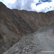 Road to Shayok from Durbuk (after Chang-La)