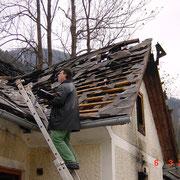 Brandschaden - Mürzsteg 3/2001