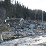 Explosionsschaden - St. Lambrecht 3/2008