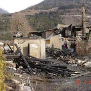 Brandschaden - Neuberg a. d. Mürz 2/2004