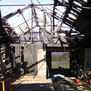 Brand Wirtschaftsgebäude - Dellach 3/2002