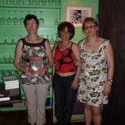 Alice Neto, Altina Ribeiro e Eunice Martins
