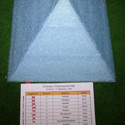 Plexiglaspyramide nächste Schicht - Kunststofffolie  (Schicht7)