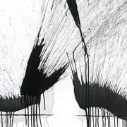 IMMER UNTERWEGS   70 x 200 cm  2016