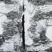 O. T.   30 x 120 x 1,8 cm   2020