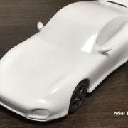 3Dプリンター(塗装仕上げ)模型塗装・ウレタン塗装