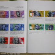 紙幣に描かれている偉人たちの解説。