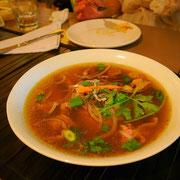 この日のチャンピオン。サイゴンフォー。麺のコシ優しい味のダシが病みつきになるな。